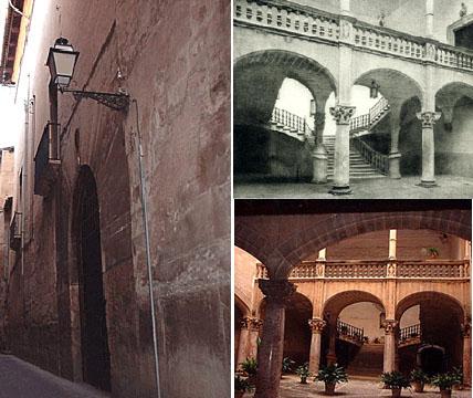 Beständig ist nur der Wechsel (gilt für ganz Palma): An Suredas ehemaligen Stadtpalast kann man heute unter drei Hausnummern wählen...