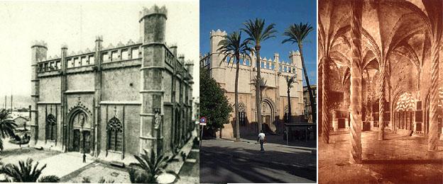 Lonja damals und heute