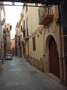 Eine lauschige Gasse in der Altstadt