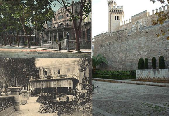 Das Alhambra - gestern und heute (r.)