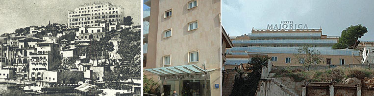 Das Hotel - damals und heute